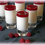 recette Panna cotta litchi framboise