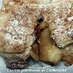 recette Brick pommes-cannelle