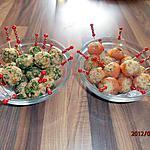 recette cake balls au saumon