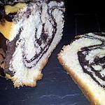 Cake marbré au nutella