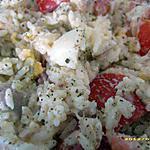 recette salade de riz à la mayonnaise (spécial pique-nique)