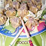 recette Bouchées au porc à la crevette xiu mai