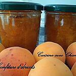 recette confiture d'abricots et amandes éffilées
