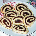 recette Roulé sablés à la pâte de datte
