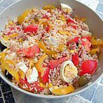 recette Ma salade de riz