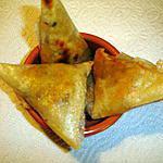 recette Samoussas Crevettes Thon
