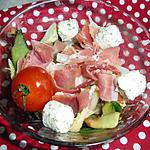 recette salade a l italienne aux dés de chèvres