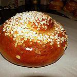 recette Mouna (Brioche tunisienne)