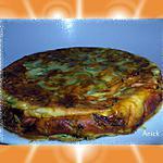 recette Clafoutis courgettes , tomates et basilic