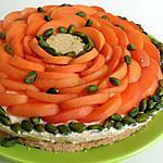 recette Cheesecake saveurs abricots et pistaches