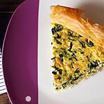 recette Tarte épicée croustillante au saumon