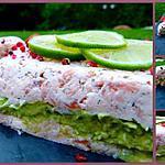 recette Terrine aux 2 saumons et avocat