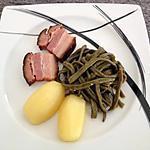 recette Haricots vert au lard fumé