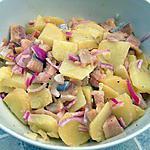 recette Salade de pommes de terre aux harengs