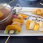 recette les brochettes aux fruits frais de mr gourmand .... et alors !!!