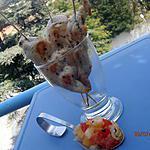 recette brochettes de poulet marinées au basilic