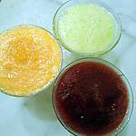 recette JUS DE LÉGUMES AU MAA ZHAR(fleur d'oranger)