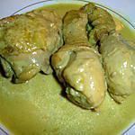 recette Poulet Curry Coco