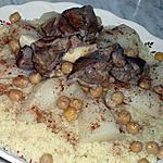 recette Couscous sauce blanche et navets d'Alger (celui des fêtes)