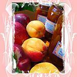 recette Confiture de nectarines et abricots aux amandons