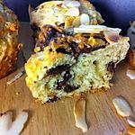 recette Muffins aux poires et chocolat