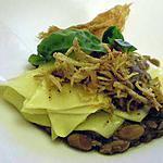 recette Pasta e fagioli décomposée