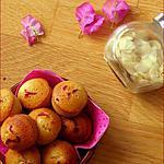 recette Financiers au miel et aux framboises ( Martha Stewart)