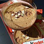 Mousse au chocolat kinder