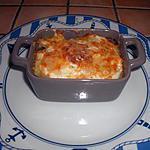 recette Gratin de pommes de terre au beaufort et à la saucisse de Morteau