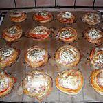 recette Feuilletés chèvre tomate