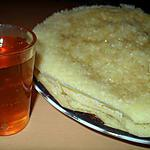 recette BEGHRIR(crêpes orientale, mille trous)
