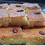 recette Gateau a base d'amandes et de semoule,(Chamia Marocaine)