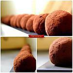 recette Truffes Cocolat Café