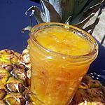 recette Confiture créole d'annanas au rhum