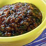 recette sauce au pistou ( 2ème version, chaude )