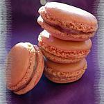 recette Macarons ganache Chocolat blanc & Framboises