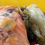 recette pavés de saumon gouteux aux fenouils