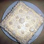 recette Neige de coco sur coussin de chantilly