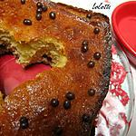 recette Gâteau à l'orange sanguine et perles de chocolat