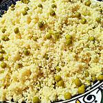 Mesfouf (Couscous aux petits pois)