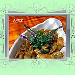 recette Fricassée de courgettes - pommes de terre  au curry et à la menthe