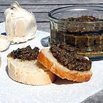 recette Tapenade aux deux olives