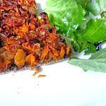 recette Tarte carotte, oignon et tapenade
