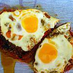 recette Nid tomates oeufs