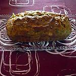 recette Cake courgettes/St nectaire/Jambon