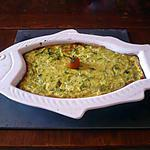 recette Gratin de courgettes au St nectaire