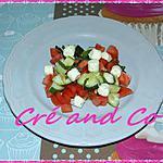 recette Salade tomate-concombre