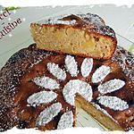 Gâteau pommes - poudre d'amandes