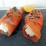 recette cannelonis de truite fumée au carré frais (recette dukan)