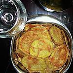 recette Chips de pomme de terre aux sel de mer aromatisé aux herbes aromatiques & piment d'Espelette (sans matière grasse)